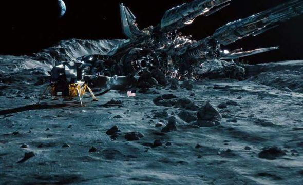 """《变形金刚》版的月球""""静海""""基地"""