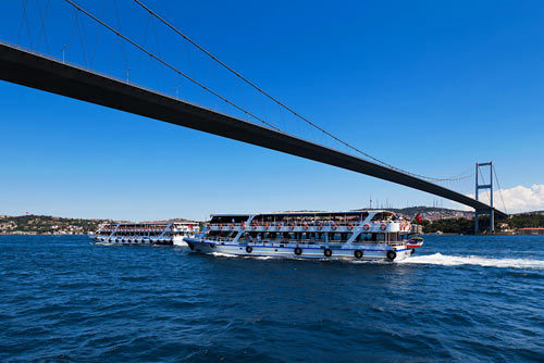 博斯普鲁斯海峡大桥图片