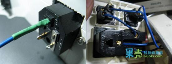 插座面板接线图;