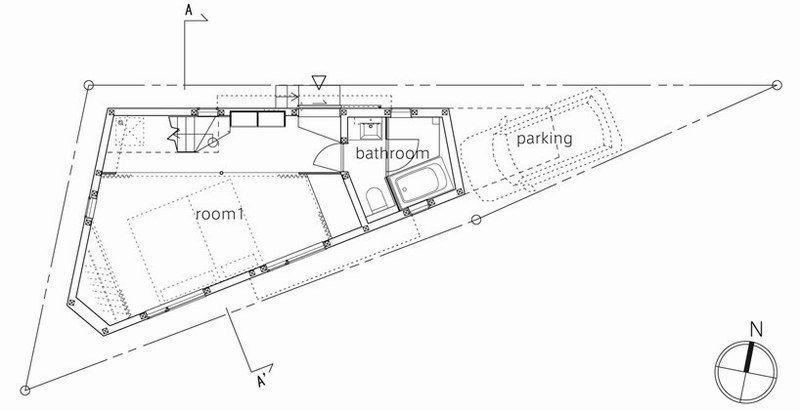 5米的房子平面图,一层加隔楼,二层一房一厅