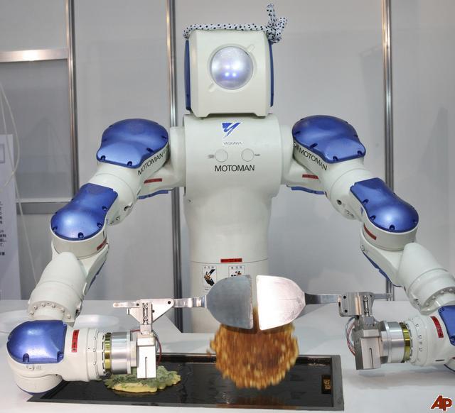 电影中的机器人离我们还有多远? 科教台