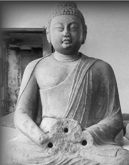 宝鸡麟游县唐代药师佛像在美国展出(图)