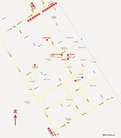 █ 出游地图   █ 当地交通:   二连浩特虽然是个小城,周围多是