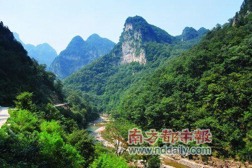 山西蟒河风景区 邂逅北方小桂林-科教台-中国网络电视