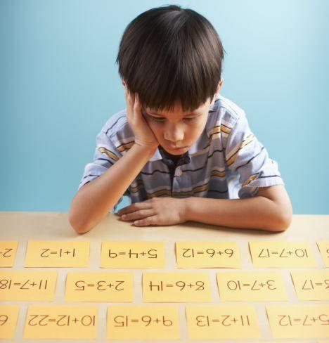 研究人员发现有些人患有和数学有关的焦虑症。