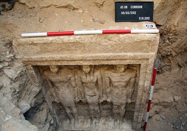 开罗附近惊现古埃及公主陵墓距今逾4500年