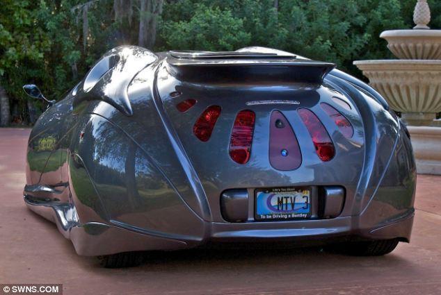 美设计师图解超炫概念车:配远程v情趣鸥翼情趣打造车门瑜伽球图片