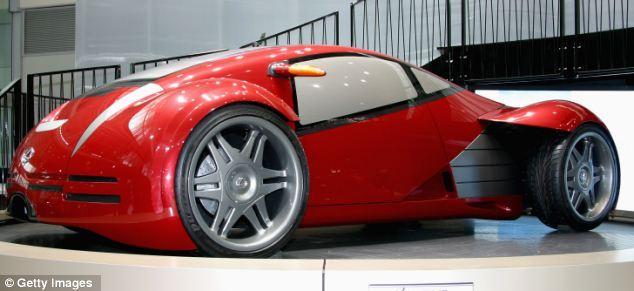 美设计师打造超炫概念车:配远程遥控鸥翼车门家口情趣用品图片