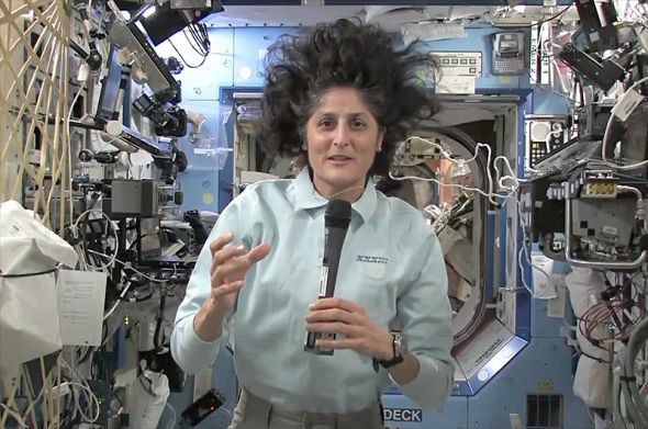 2012年10月19日,苏尼塔·威廉姆斯是国际空间站第33远征队指令长,她接受了空间网的采访