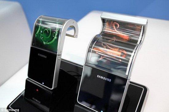 有机电致发光二极管将用于制造柔软屏幕手机