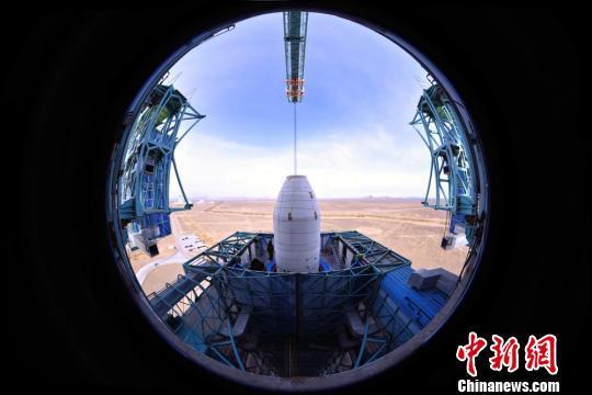 """中国成功发射""""遥感卫星十六号""""(图)"""