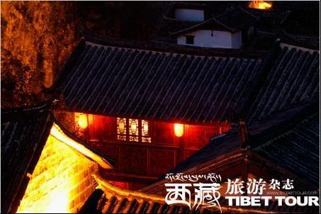 """丽江古镇""""柔软""""的夜"""