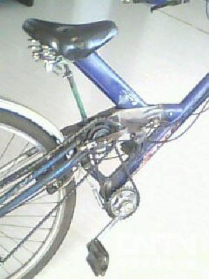 自行车主轴结构