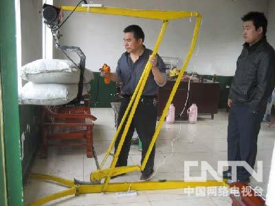 创:室内装修起重机