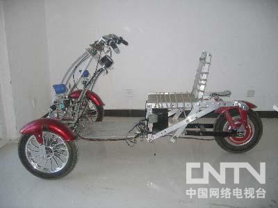 [我爱发明]网友原创:新型电动三轮车